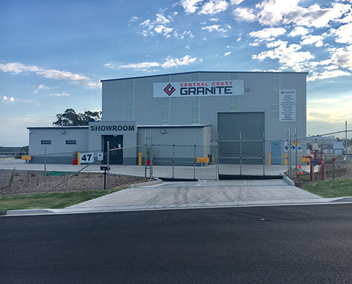 Central Coast Granite Location